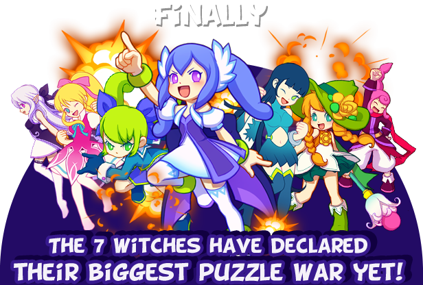 Finally, The 7 witches have declared their biggest puzzle war yet!